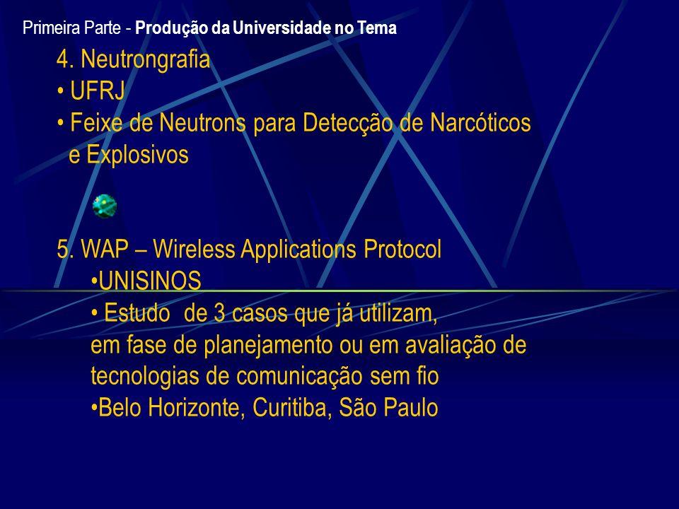 Feixe de Neutrons para Detecção de Narcóticos e Explosivos