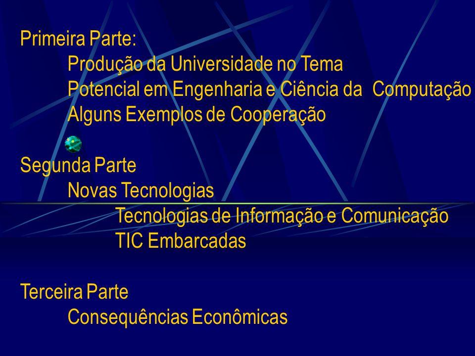 Primeira Parte:. Produção da Universidade no Tema