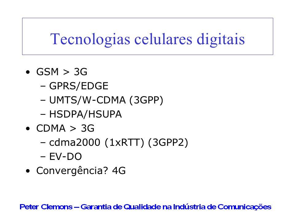 Tecnologias celulares digitais