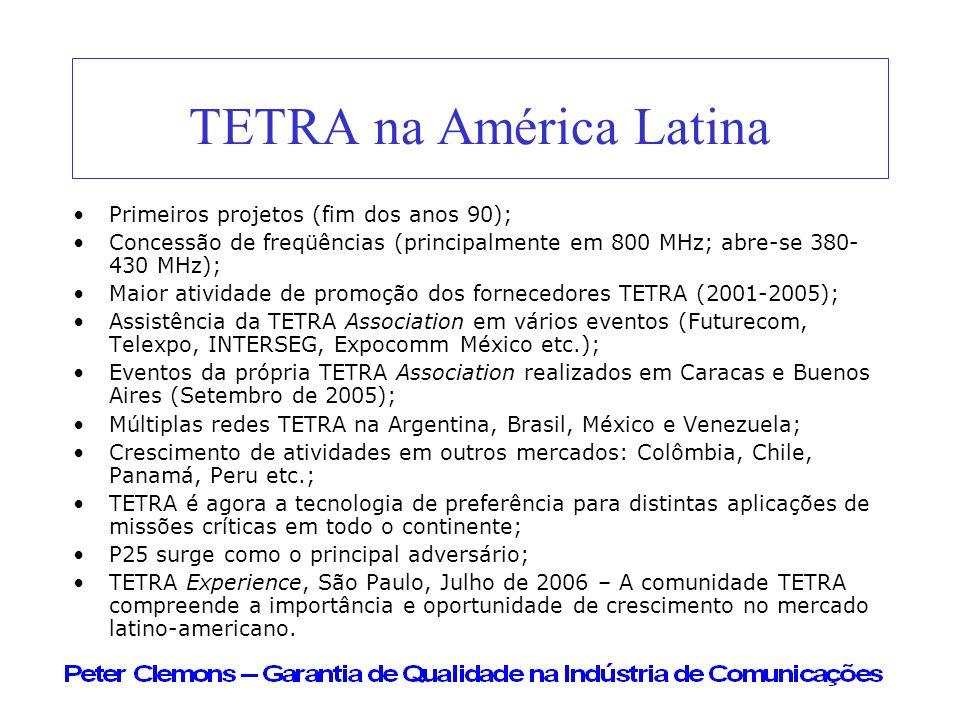 TETRA na América Latina