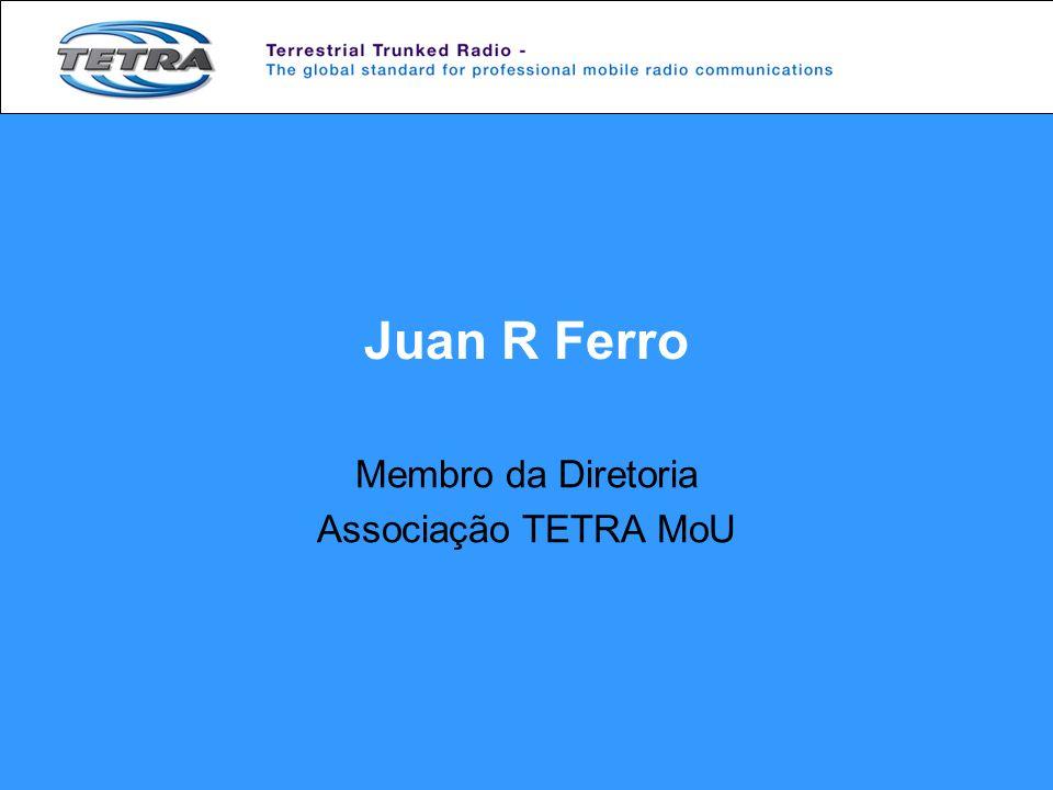 Membro da Diretoria Associação TETRA MoU
