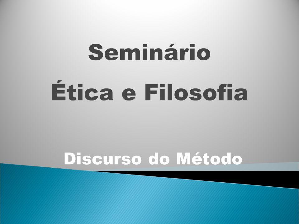Seminário Ética e Filosofia