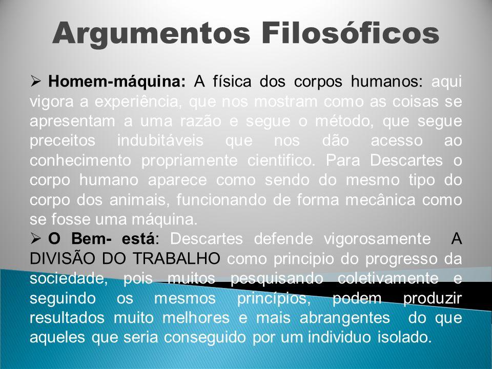 Argumentos Filosóficos