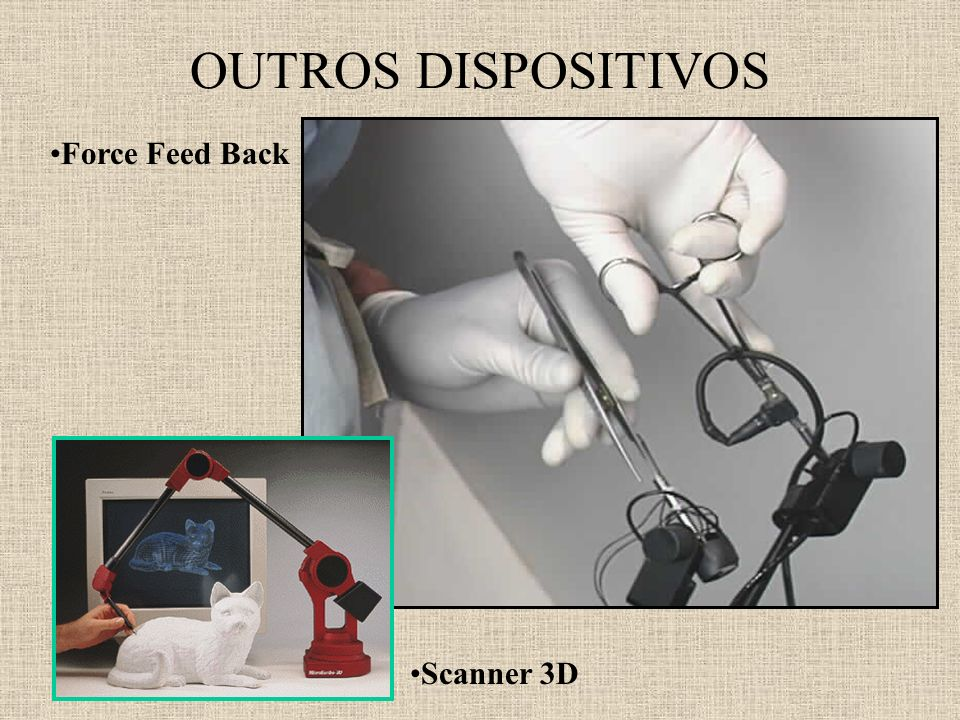 OUTROS DISPOSITIVOS Force Feed Back Scanner 3D