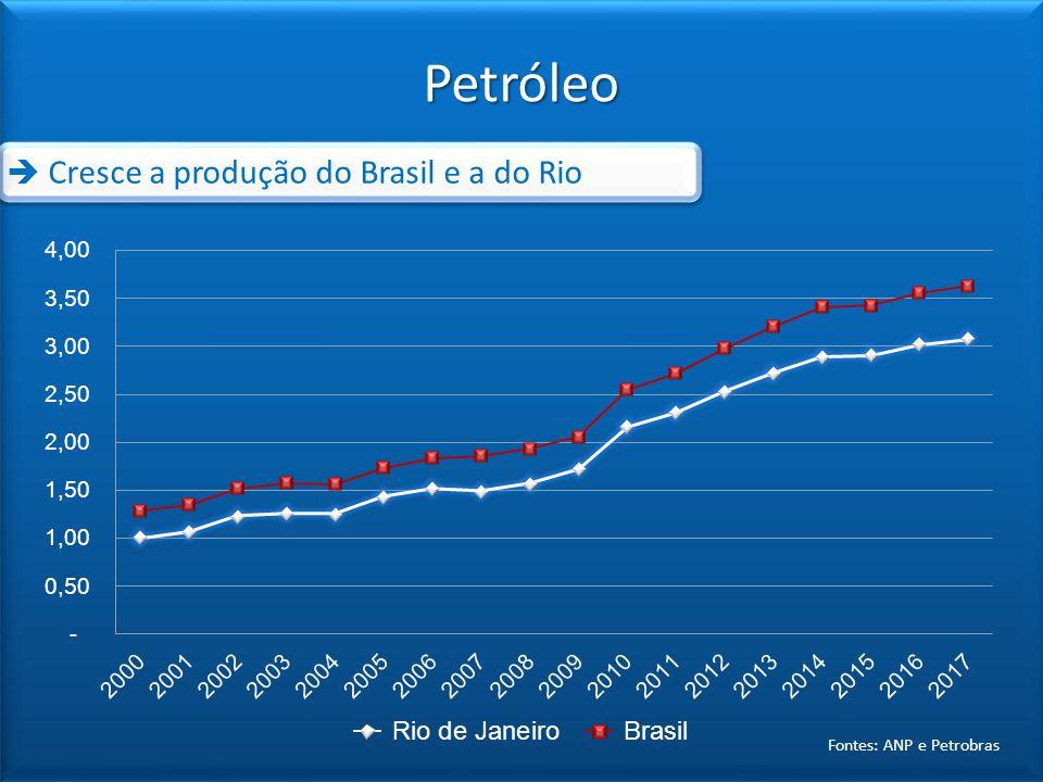 Fontes: ANP e Petrobras