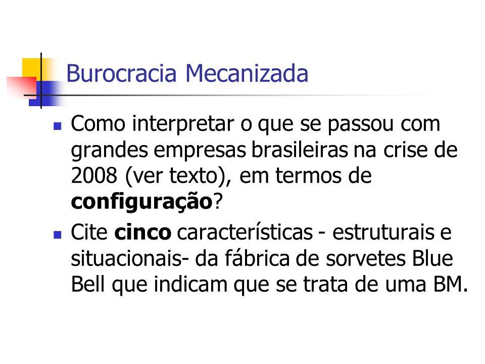 Burocracia Mecanizada