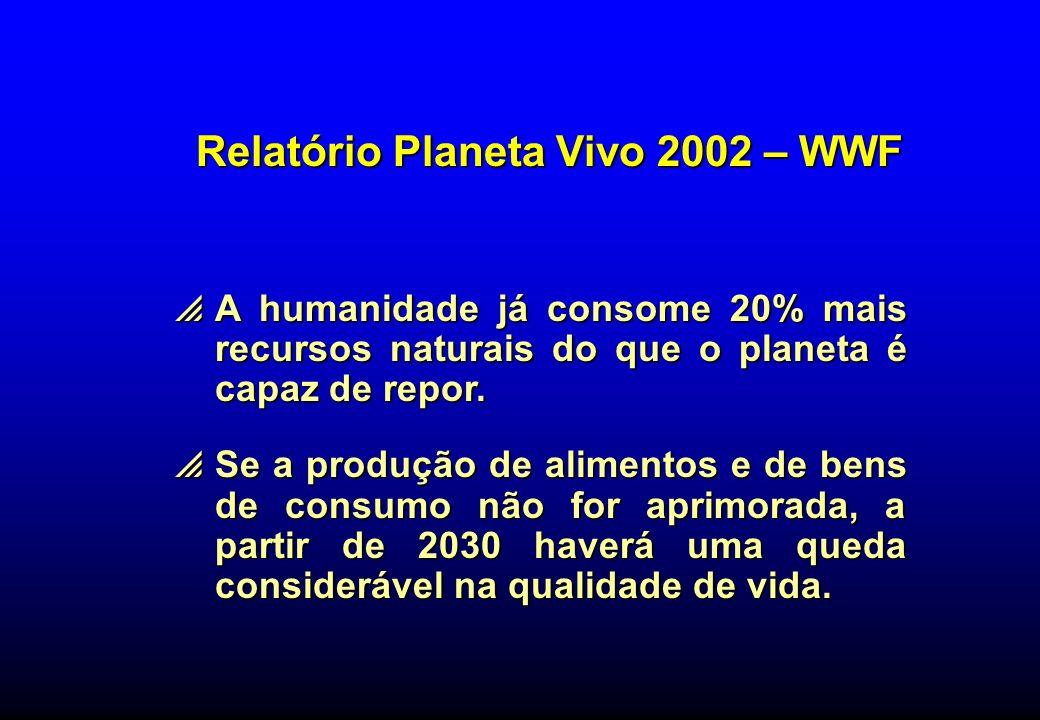 Relatório Planeta Vivo 2002 – WWF
