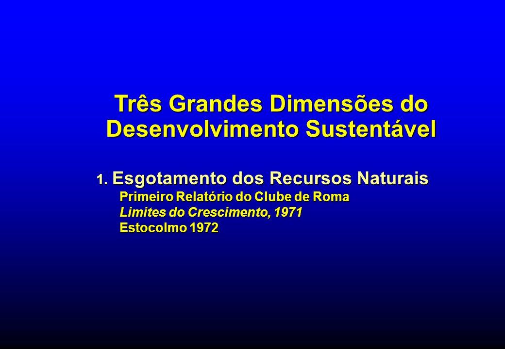 Três Grandes Dimensões do Desenvolvimento Sustentável