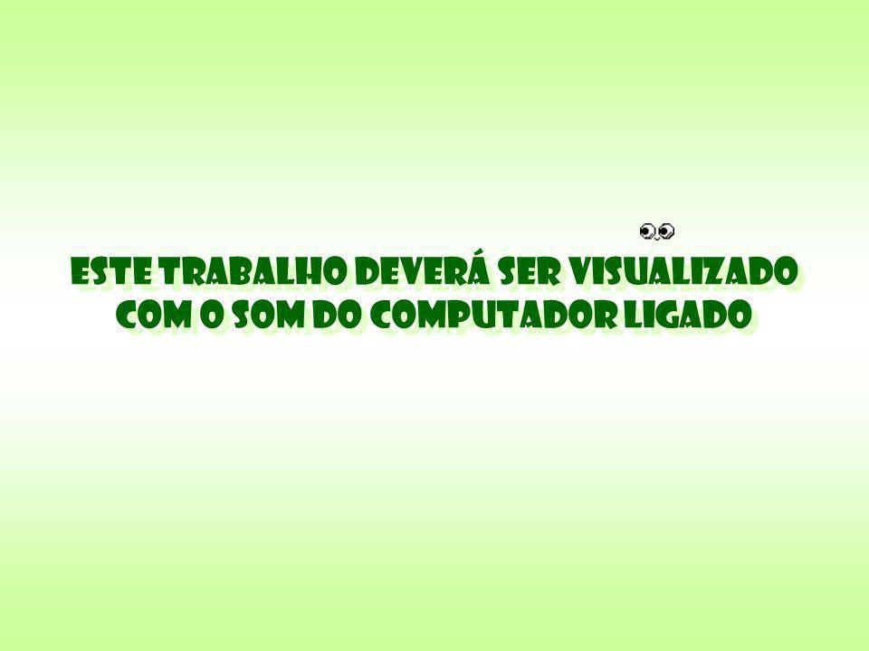 ESTE TRABALHO DEVERÁ SER VISUALIZADO COM O SOM DO COMPUTADOR LIGADO