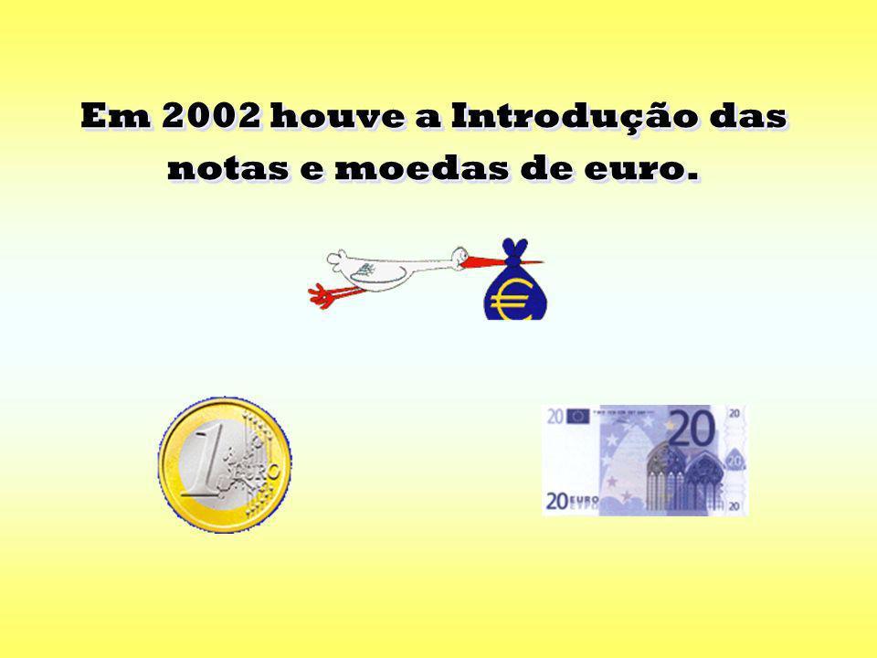 Em 2002 houve a Introdução das