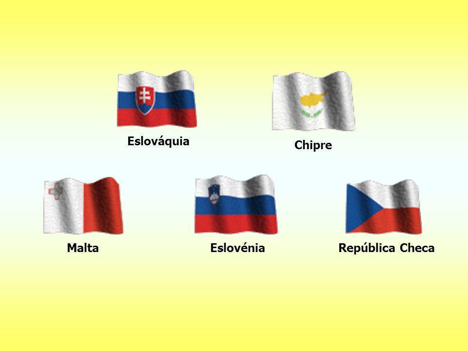 Eslováquia Chipre Malta Eslovénia República Checa
