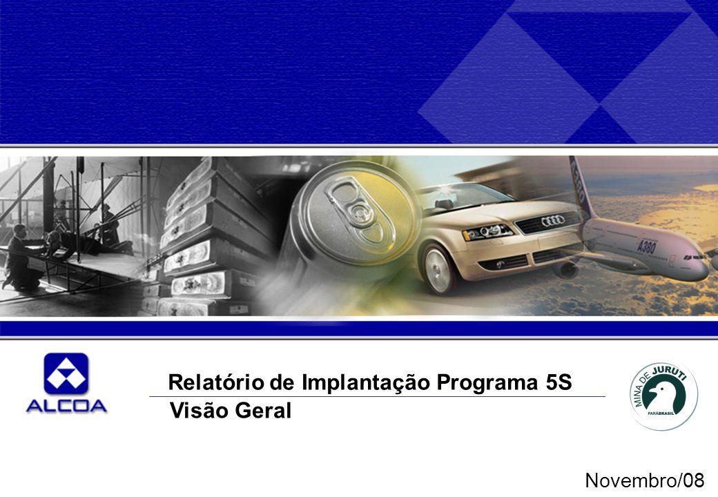 Relatório de Implantação Programa 5S Visão Geral