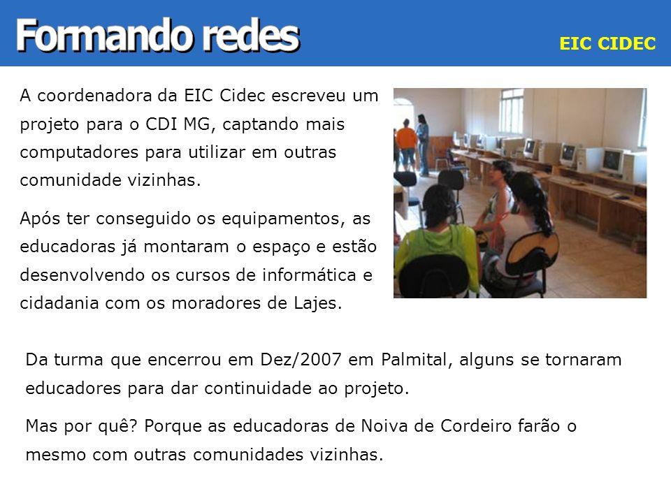 Formando redes EIC CIDEC