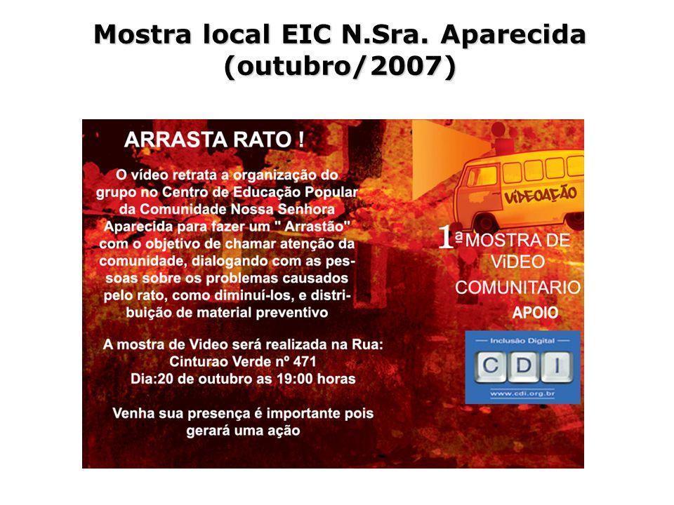 Mostra local EIC N.Sra. Aparecida