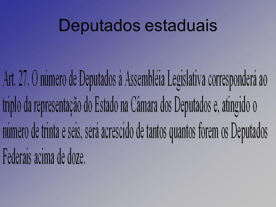 Deputados estaduais