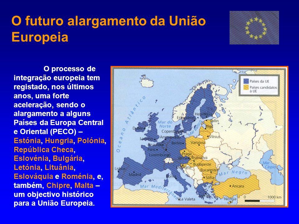 O futuro alargamento da União Europeia