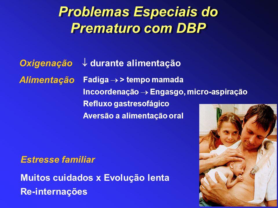 Problemas Especiais do Prematuro com DBP