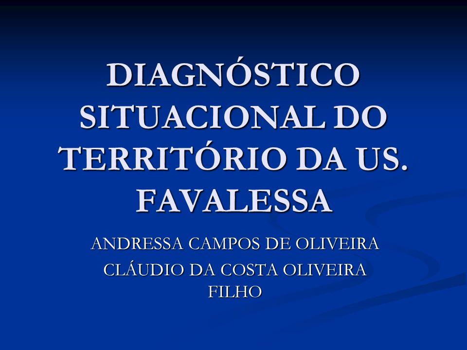 DIAGNÓSTICO SITUACIONAL DO TERRITÓRIO DA US. FAVALESSA