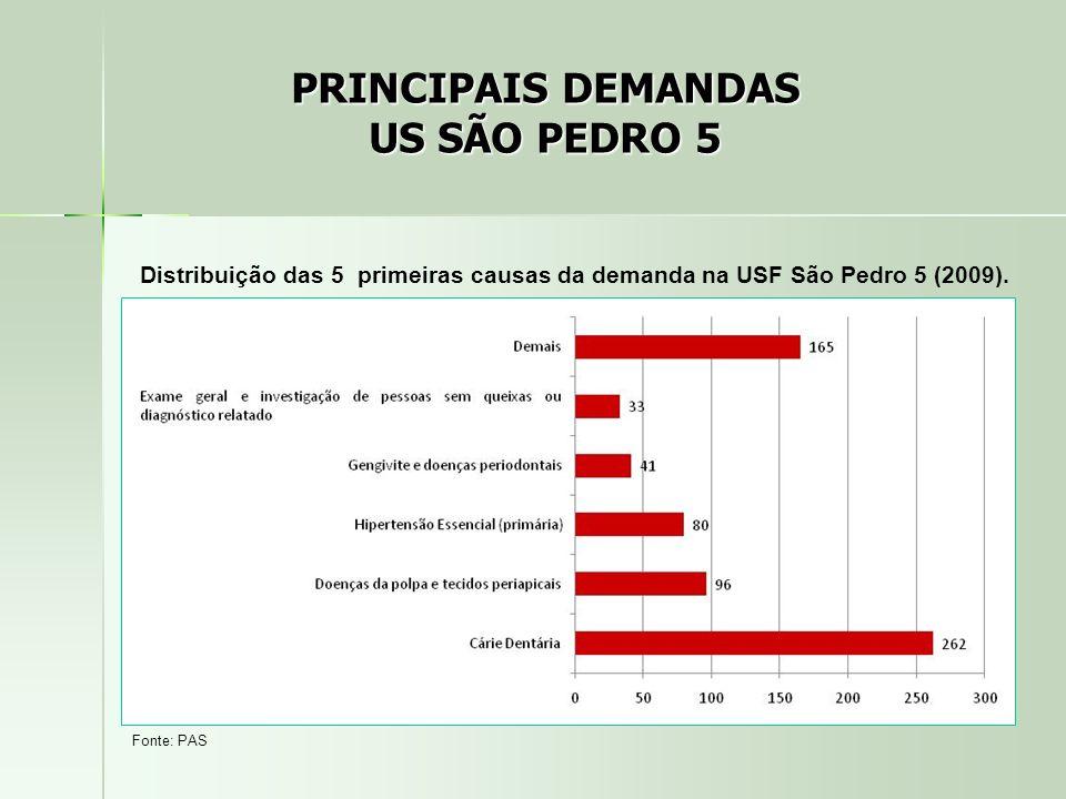 PRINCIPAIS DEMANDAS US SÃO PEDRO 5
