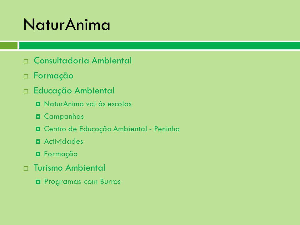 NaturAnima Consultadoria Ambiental Formação Educação Ambiental