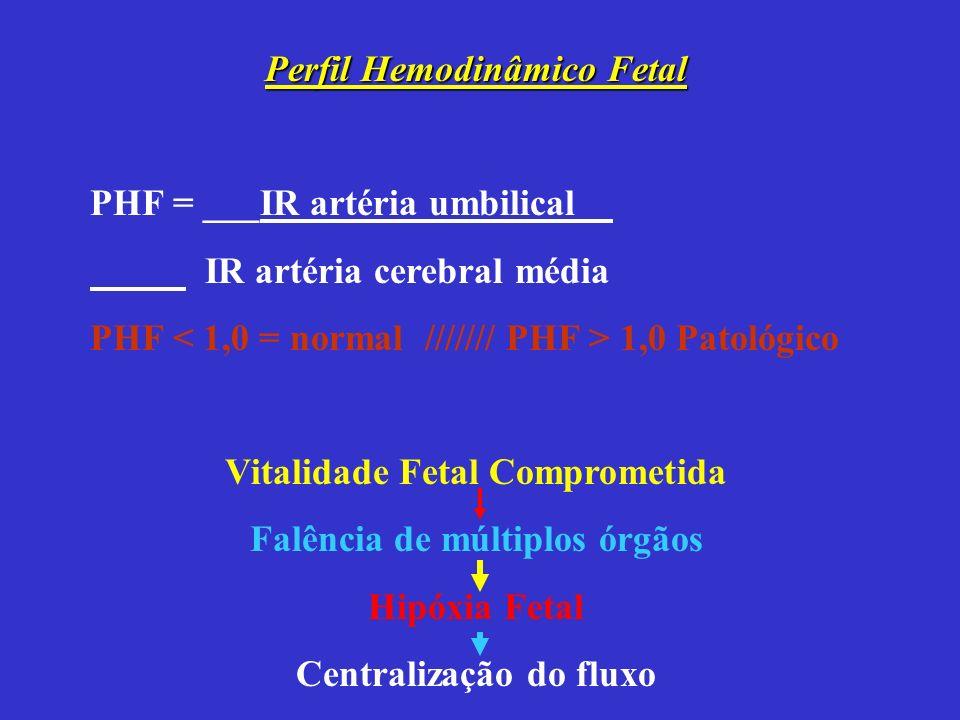 Perfil Hemodinâmico Fetal