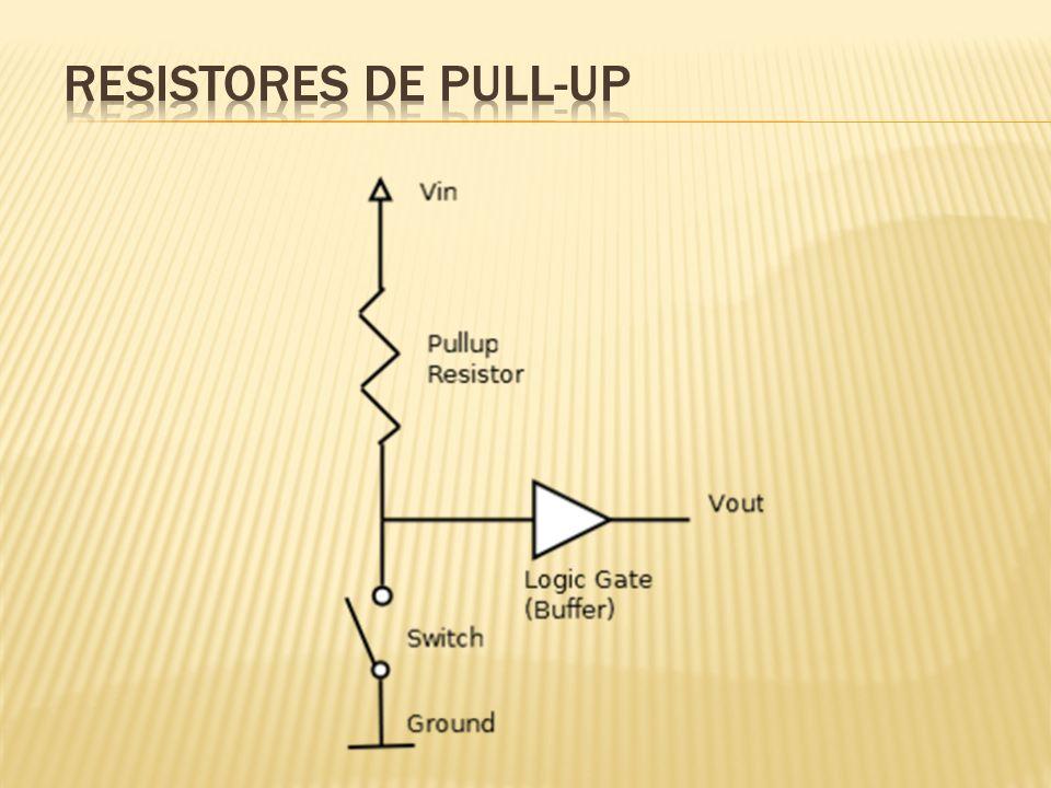 Resistores de PULL-UP
