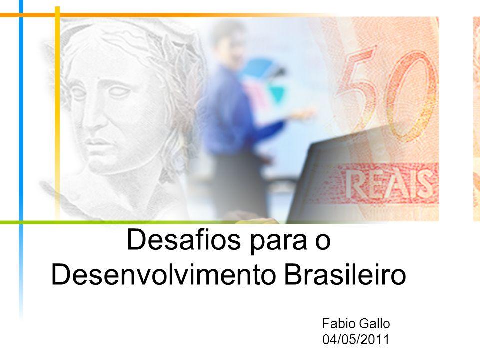 Desafios para o Desenvolvimento Brasileiro