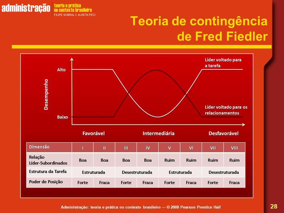 Teoria de contingência de Fred Fiedler