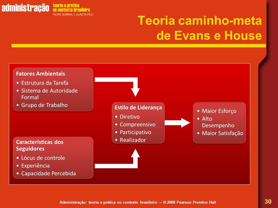 Teoria caminho-meta de Evans e House