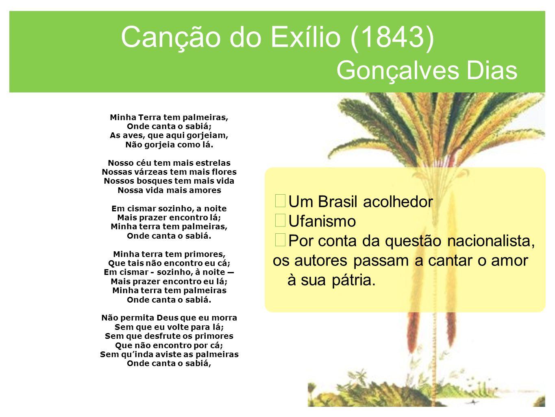 Canção do Exílio (1843) Gonçalves Dias