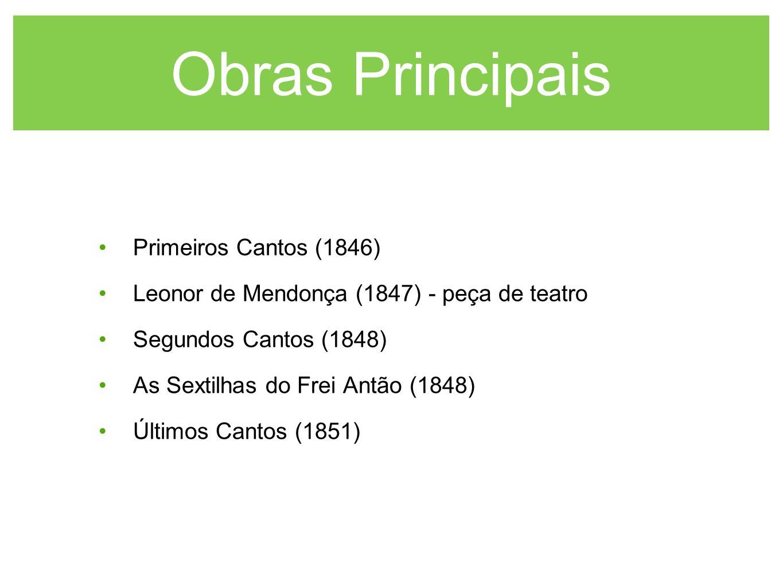 Obras Principais Primeiros Cantos (1846)