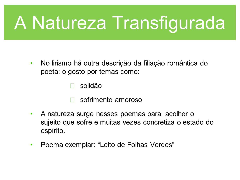 A Natureza Transfigurada
