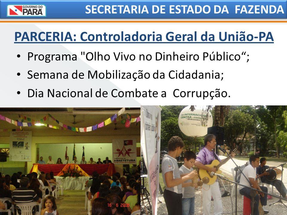 PARCERIA: Controladoria Geral da União-PA