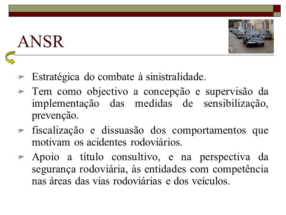 ANSR Estratégica do combate à sinistralidade.
