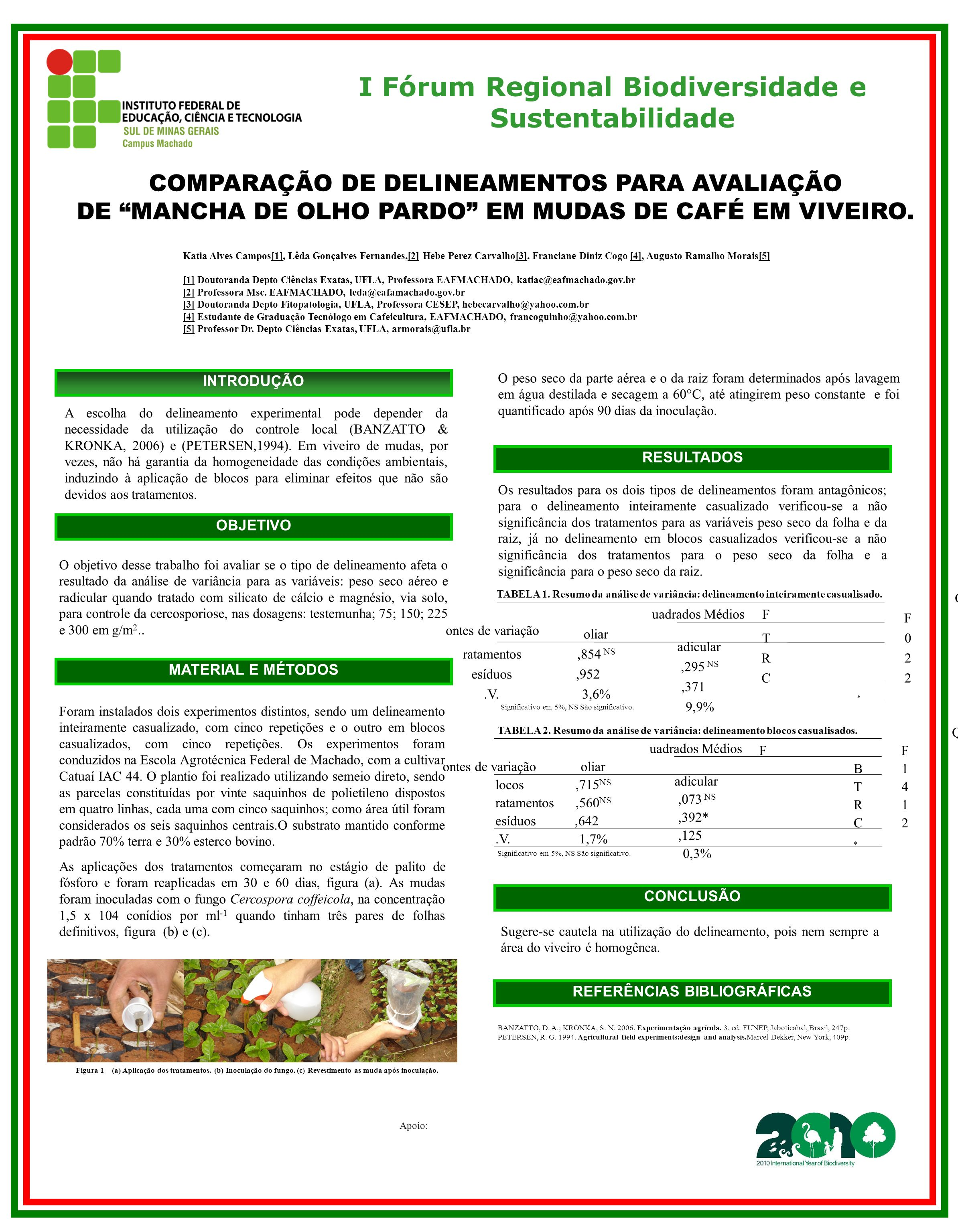 I Fórum Regional Biodiversidade e Sustentabilidade