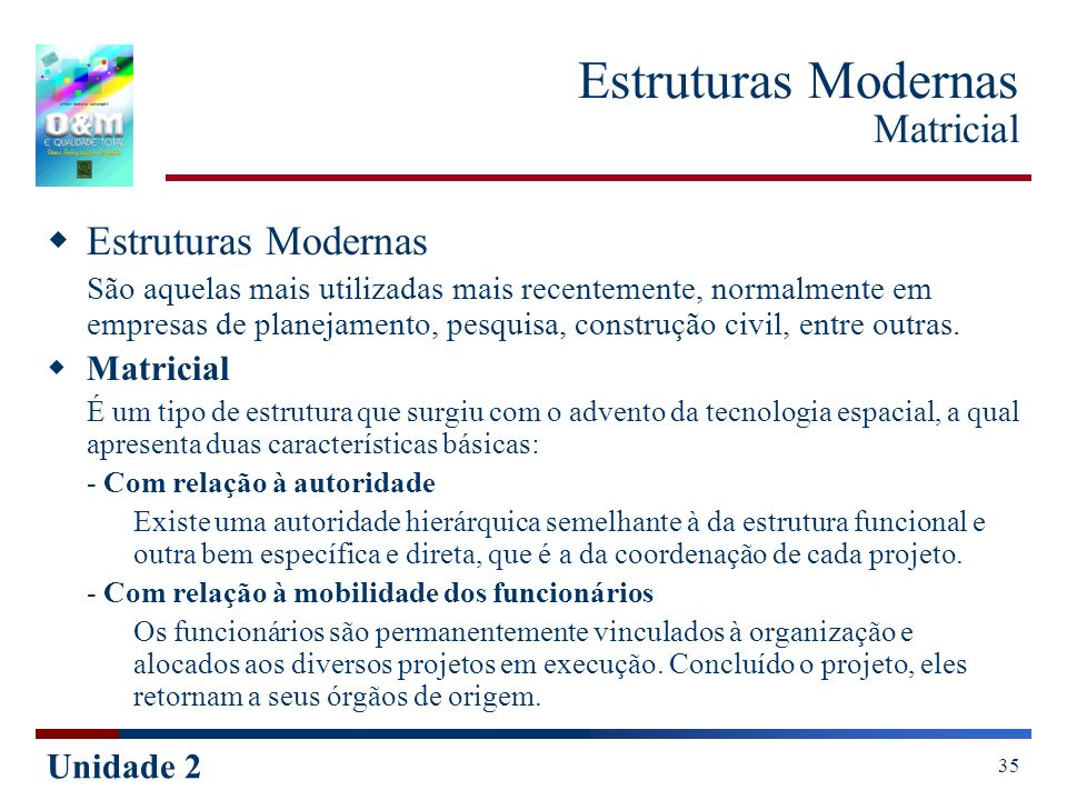 Estruturas Modernas Matricial