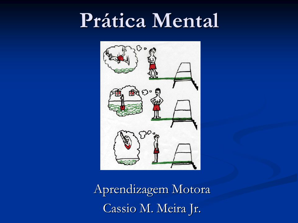 Aprendizagem Motora Cassio M. Meira Jr.