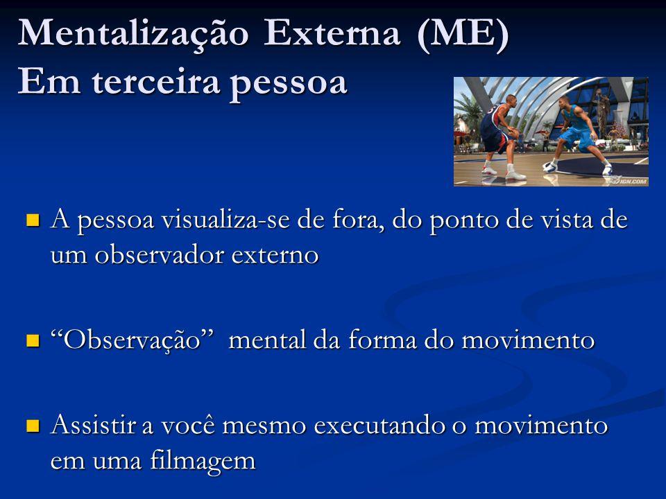 Mentalização Externa (ME) Em terceira pessoa
