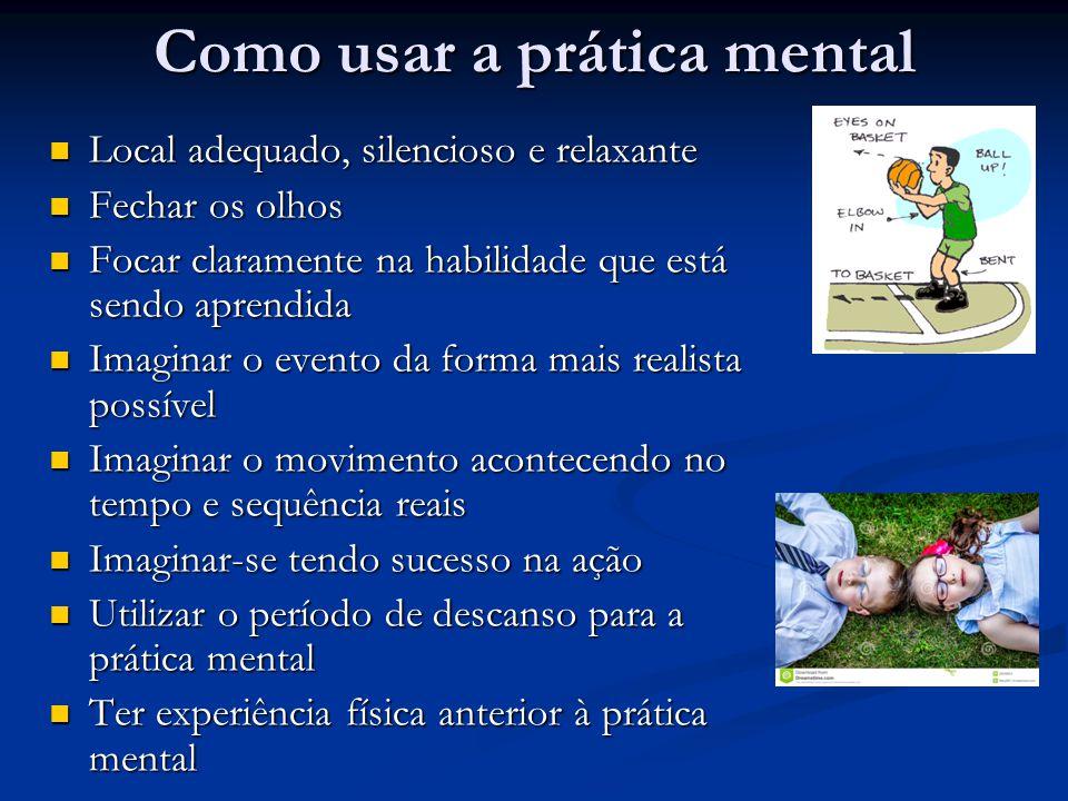Como usar a prática mental