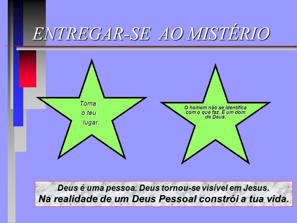 ENTREGAR-SE AO MISTÉRIO