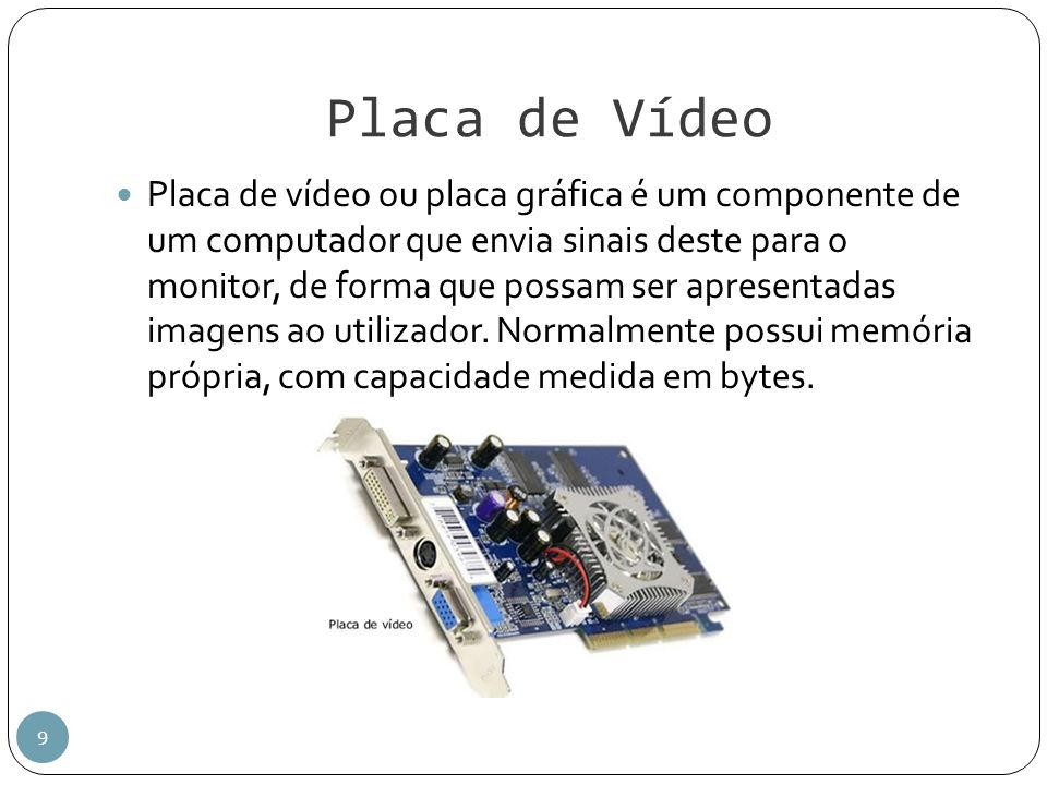 Placa de Vídeo