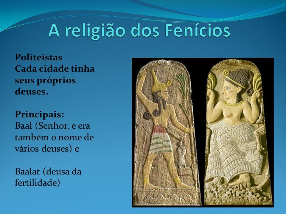 A religião dos Fenícios