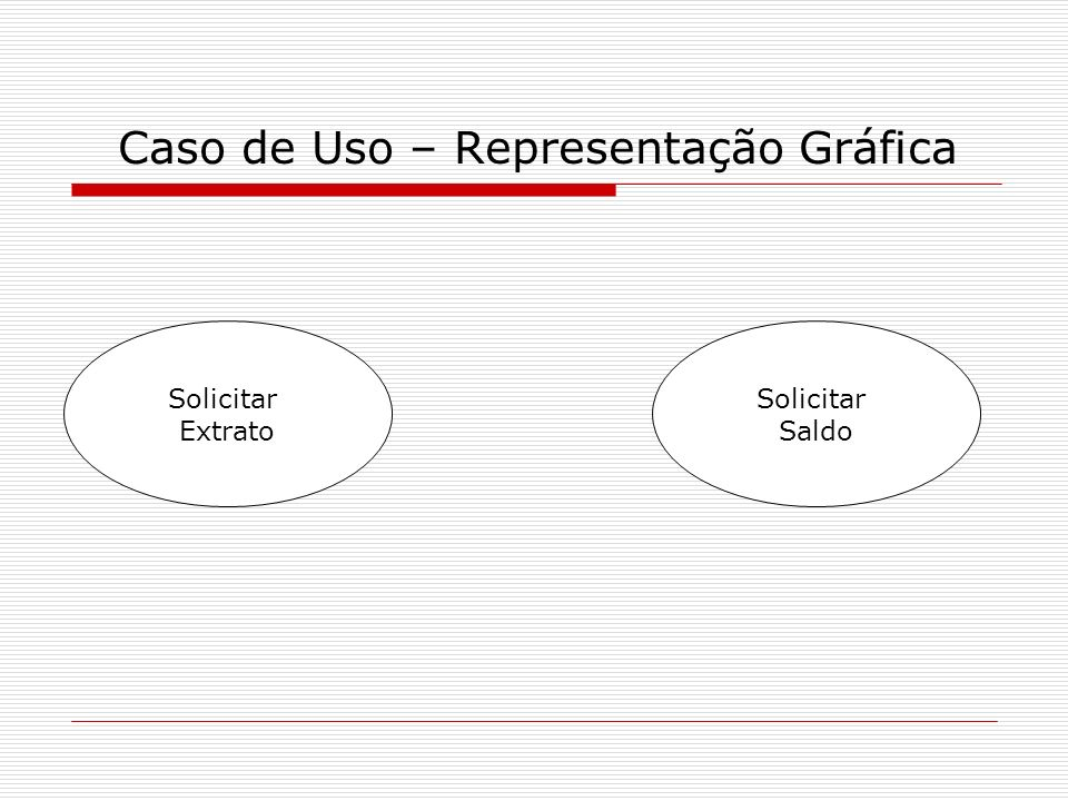 Caso de Uso – Representação Gráfica