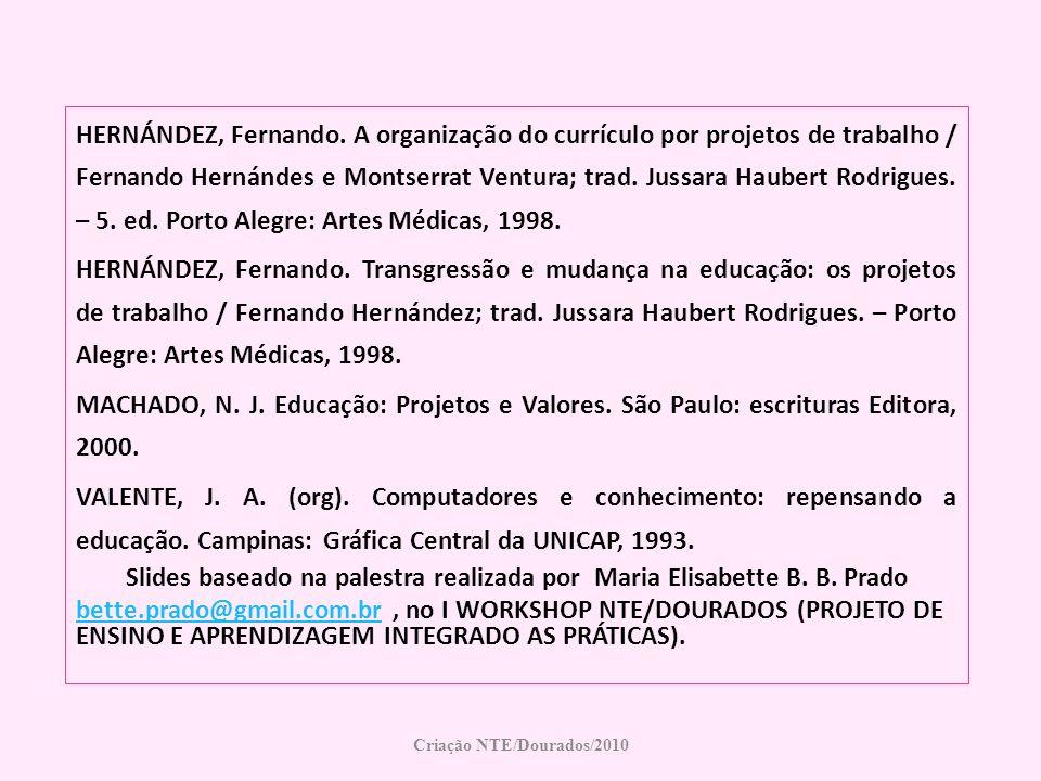 Slides baseado na palestra realizada por Maria Elisabette B. B. Prado
