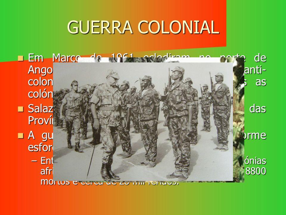GUERRA COLONIAL