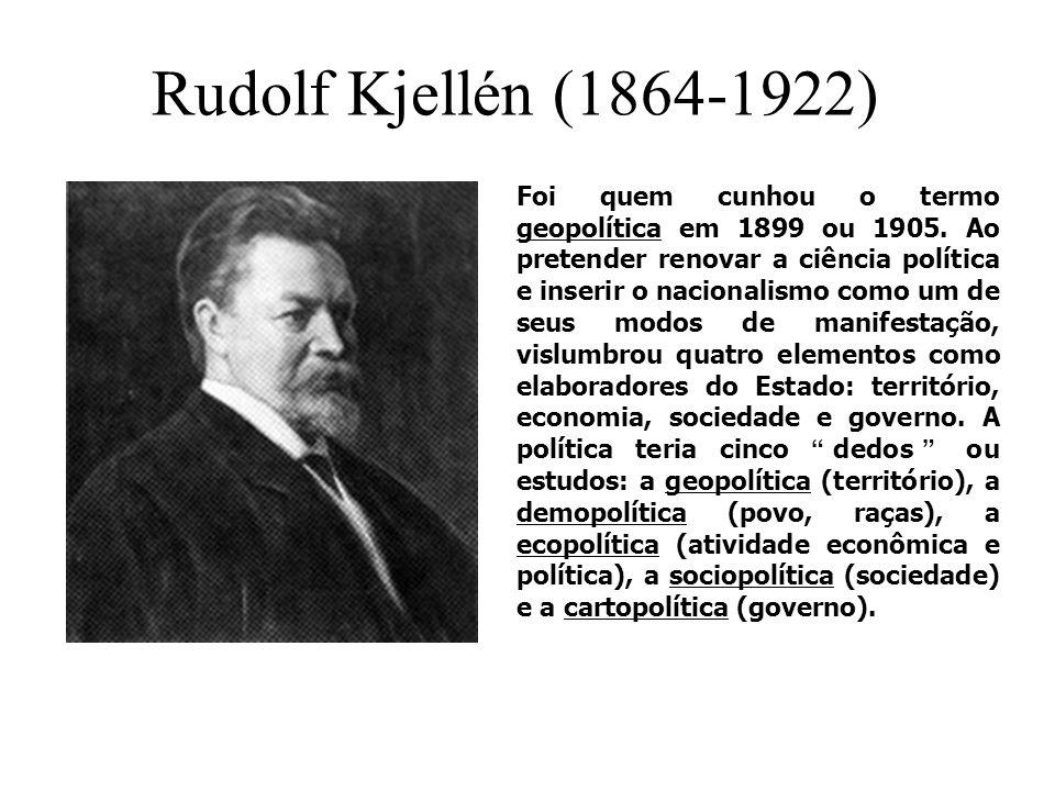 Rudolf Kjellén (1864-1922)