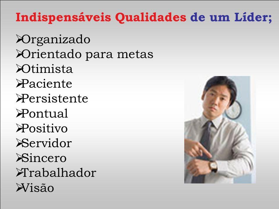 Indispensáveis Qualidades de um Líder;