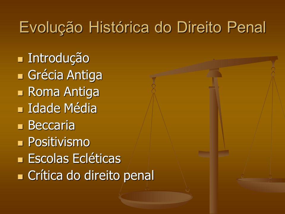 Evolução Histórica do Direito Penal