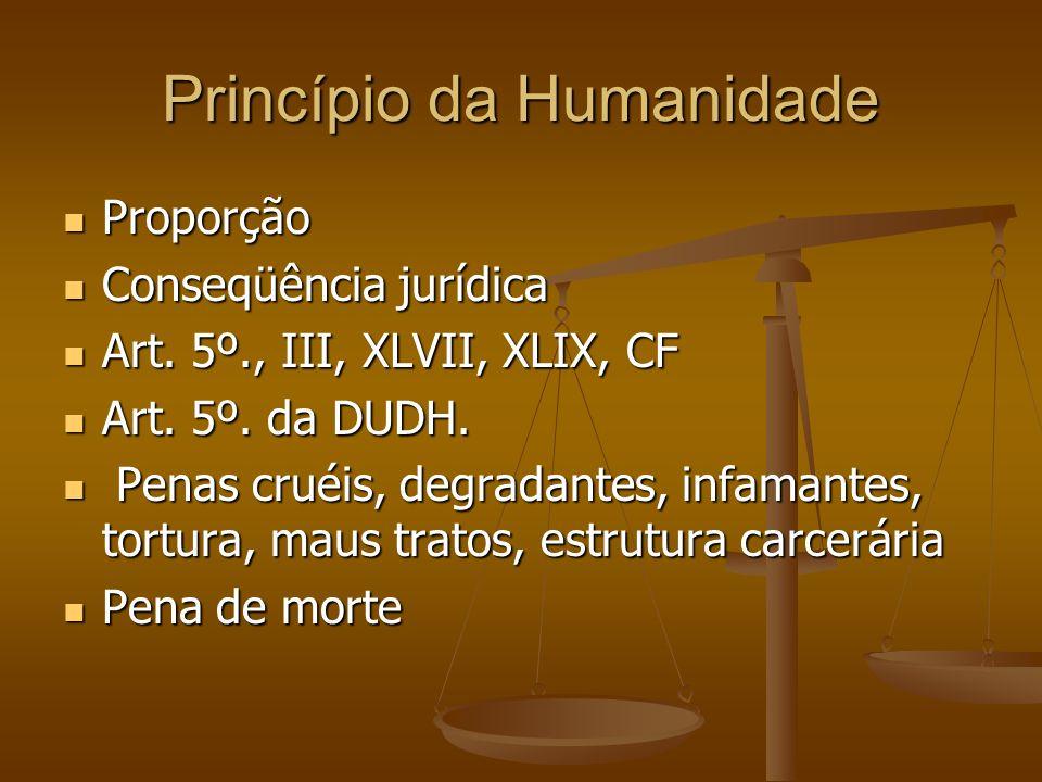 Princípio da Humanidade