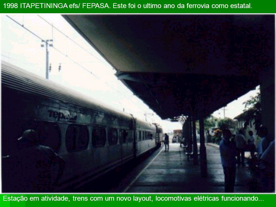 1998 ITAPETININGA efs/ FEPASA